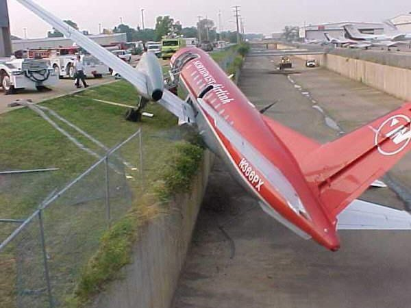 Amzaing Flight Accidents... Several of these are close escapes!