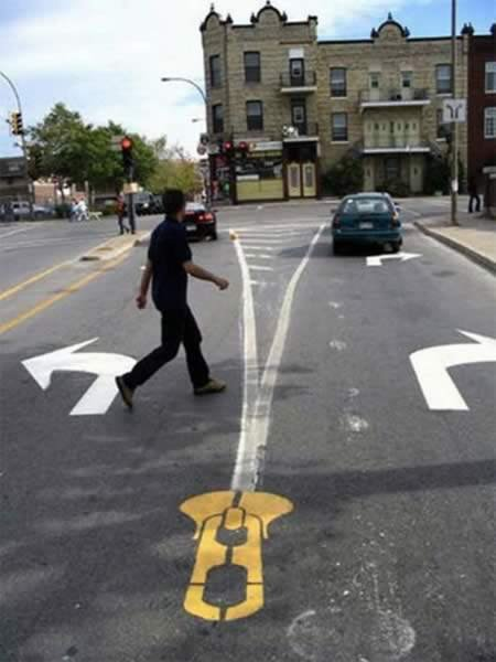 Pedestrian Crosswalk Artworks from Canada