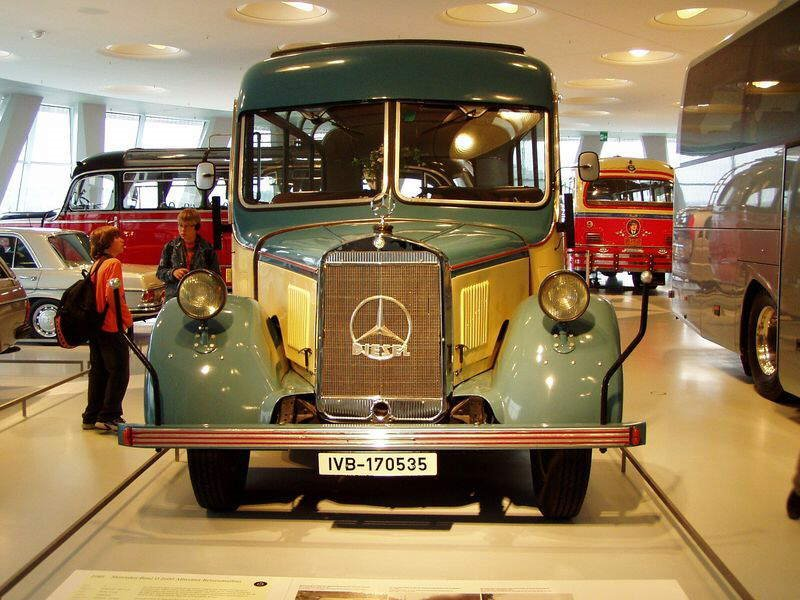 Photos from Mercedes Benz Museum in Stuttgart