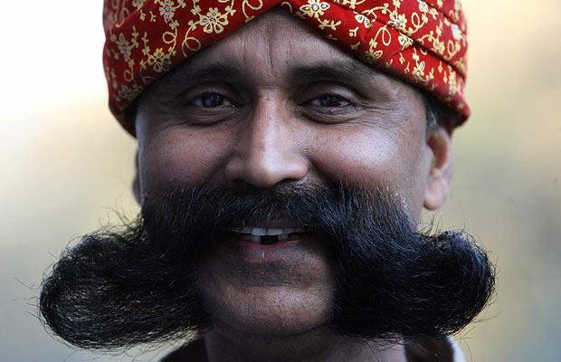 Moustaches N Beards from India