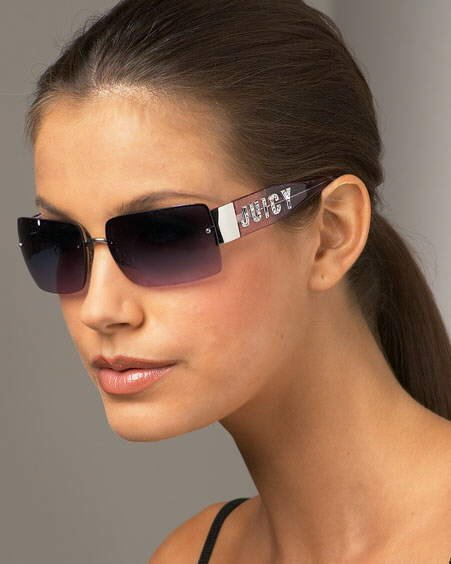 Cool Sun Glasses on Hot Girls! (Juicy Couture)