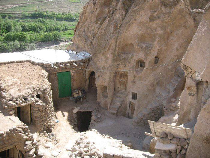 Unique Cave Houses in Iran - Carved from a Mountain