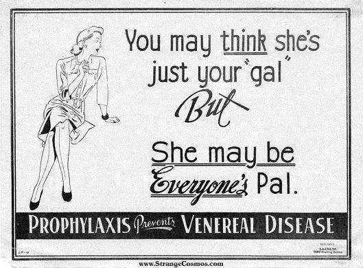 Ads from the 30's: Beer Cans, Cigarettes, Feminine Hygine, Prevent VD
