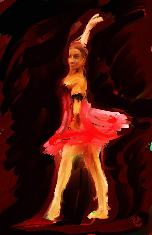 Fantastic Paintings (Dance) by Pat McDonald