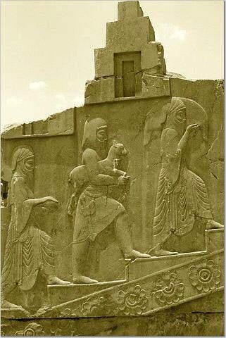 Ancient Stone Art: Persian Architectural Designs