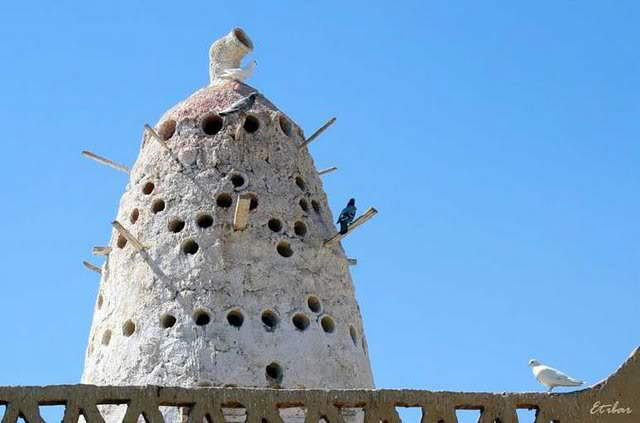 Towers with Pigeon Holes: Pigeon Homes
