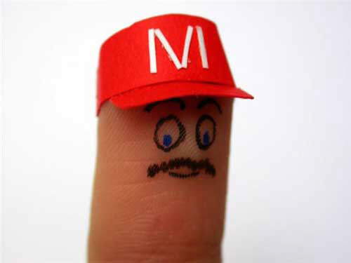 Creativity With Finger