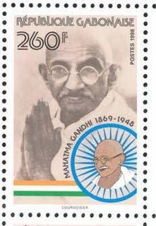 Mahatma Gandhi Postage Stamps