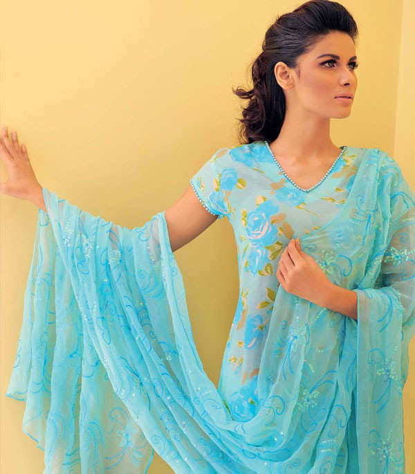Indian Dresses in Summer Colors... With Love