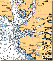 Dawson Landing Route
