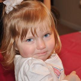 by Sandy Newfield - Babies & Children Children Candids ( child, smirk, girl, adorable, cute )