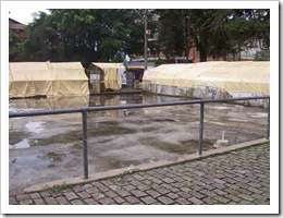 quadra molhada