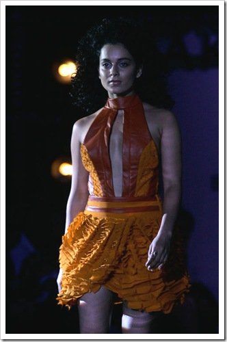 kangana rawat walking on ramp for Narendra kumar fashion designer india at Lakme Fashion week in Mumbai