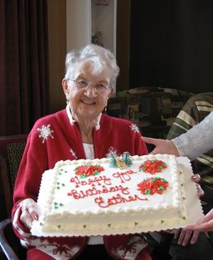 Auntie Esthers Birthday