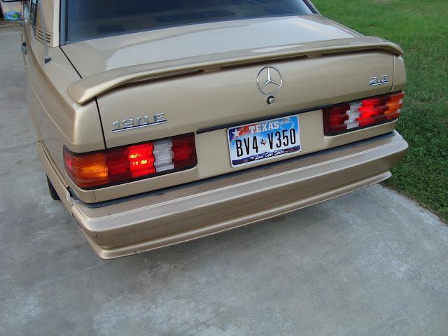 The zender thread for Mercedes benz 190e front bumper