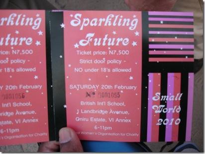 Small World 2010 Invitation Card