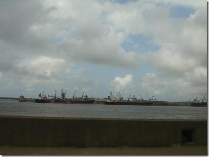 Lagos port