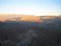 AM View from Gooseberry N Rim 12 11 05