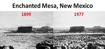 Enchanted Mesa cut
