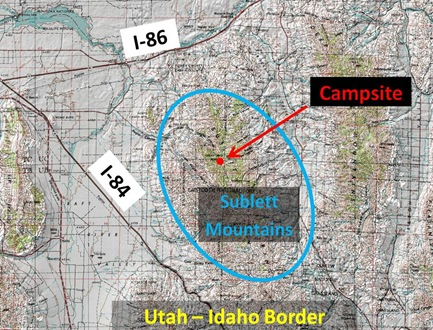 Sublett Map Caption