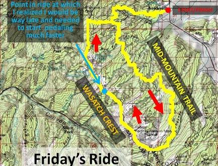 WCMM Ride Map