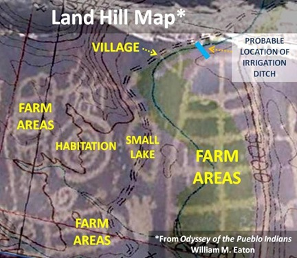 Land Hill Map