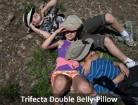 Trifecta Double Belly-Pillow