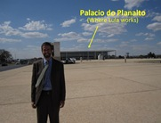 Palacio do Planalto caption