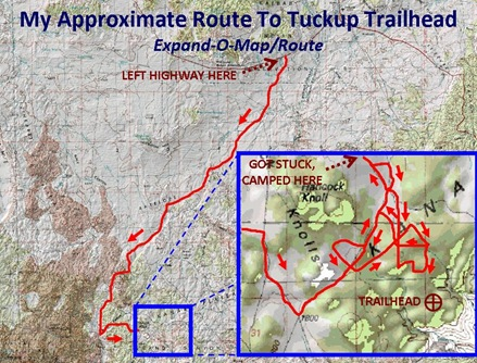 Tuckup Route caption