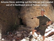 ASteve hole caption