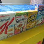 Nestle and Kellogg's cereals available at Cerealistix