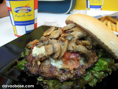 Awesome gourmet dish: Blues Brothers Burger