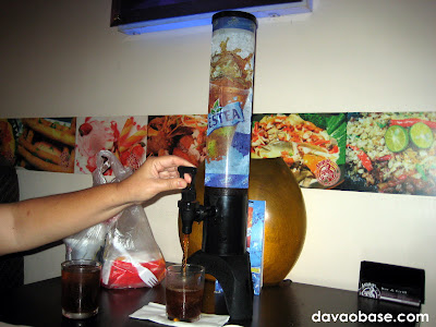 Nestea Iced Tea Tower at Antonio's Bar & Grill
