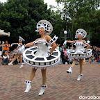 Film reel girls: Part of Disney on Parade in Disneyland Hong Kong