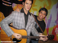 Elvis Presley at Madame Tussauds in The Peak, Hong Kong