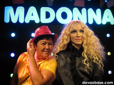 Madonna at Madame Tussauds in The Peak, Hong Kong