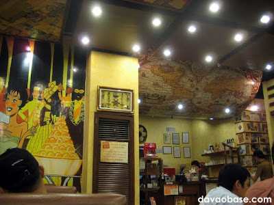 Interiors of Bigby's Cafe and Restaurant in SM City Davao