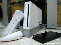 The Game Gear Davao package: Wii console with 320 GB hard drive, two remotes and two nunchuck controllers