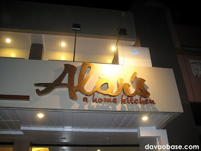 Alor's, A Home Kitchen: F. Torres Street, Davao City