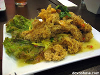 Crispy Catfish Salad at Bangkok Wok