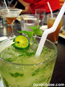 Lime and Mint Mojito at Bangkok Wok