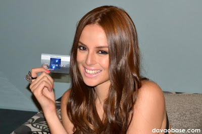 Georgina Wilson endorses Blue from American Express BDO