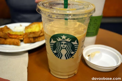 Venti Iced Caramel Macchiato at Starbucks Abreeza