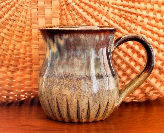 3-year anniversary giveaway pottery mug