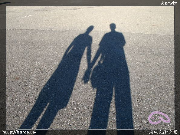 2016流行白色边框头像带边框的双影情侣头像