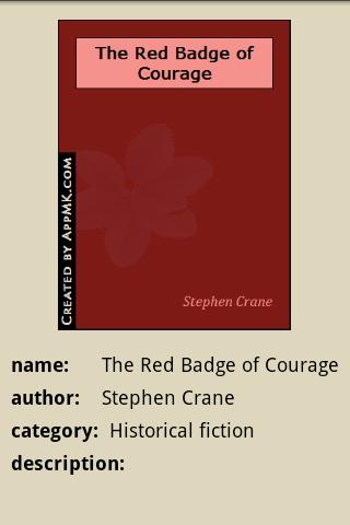 玩免費書籍APP|下載The Red Badge of Courage app不用錢|硬是要APP