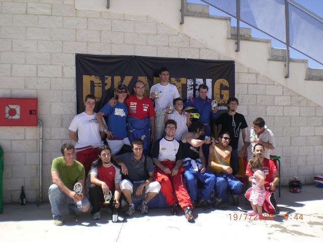 Foto de grupo GP6 CKRC 2009