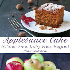 Amazing Applesauce Cake