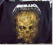 Nueva camiseta de Metallica