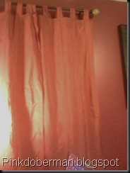 New Pink Curtains